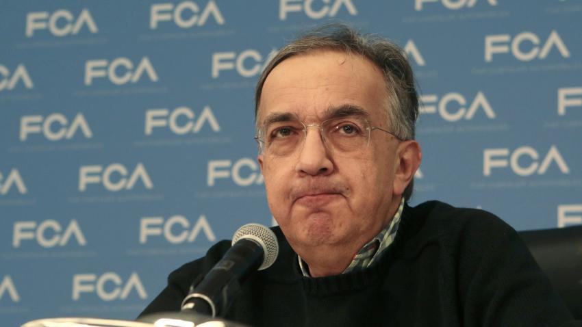 Sergio Marchionne, presidente de Fiat Chrysler