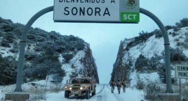 Prevén nevadas en Sonora este fin de semana