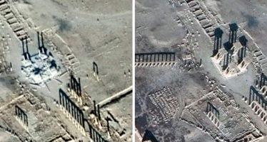 Monumentos arqueológicos sirios, patrimonio de la humanidad, son destruidos por el EI