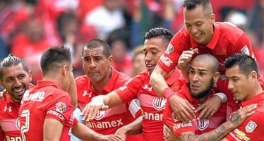 Toluca venció 2-1 al América en la nueva Bombonera