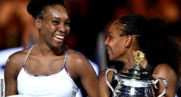 Serena Williams gana el Abierto de Australia, al vencer a su hermana Venus