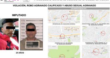 PGJ capitalina informa sobre detención a violador que operaba en el sur de la CDMX