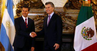 Macri expresa solidaridad del pueblo argentino con México ante política de Trump