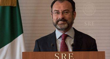 Secretario de Estado de los EU visitará México, anuncia Luis Videgaray
