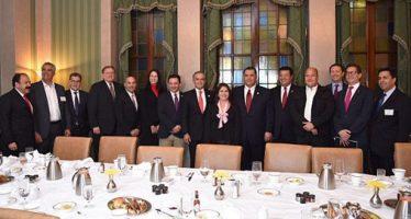 Mancera se reunió con empresarios y oficiales de Chicago