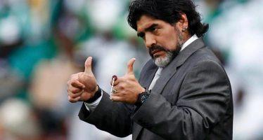 """Maradona trabajará en la FIFA para que esta sea una institución """"limpia y transparente"""""""