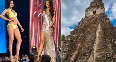 Guatemala enviará protesta a organizadores de Miss Universo por mal uso de imagen de Tikal