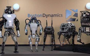 Boston Dynamics presenta robot bípedo, con ruedas y capaz de dar saltos sin caerse