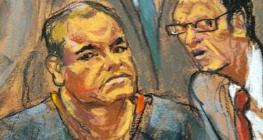 Compareció 'El Chapo' ante tribunal de NY; abogado protesta por condiciones de prisión