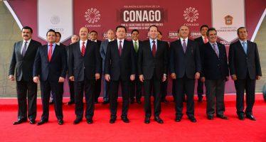 Gobernadores de EU no comparten y están preocupados por política de Trump: Conago