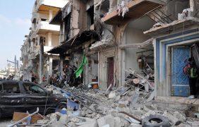 Ataque suicida múltiple en Homs, Siria, deja al menos 42 muertos