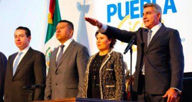 Antonio Gali Fayad rindió protesta como nuevo gobernador de Puebla