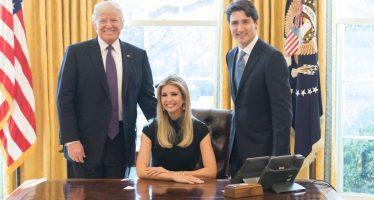 Causa polémica foto de Ivanka Trump en la silla del Despacho Oval de EU