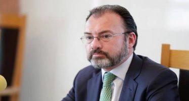 Videgaray aborda temas de política con EU en reunión con la Jucopo de Diputados