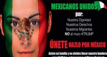 Organizaciones convocan a la marcha 'Mexicanos Unidos' este domingo 12 de febrero