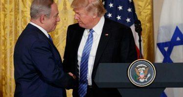 Para 'un gran acuerdo de paz' entre Israel y palestinos 'tienen que hacer compromisos': Trump