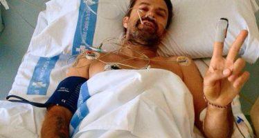 Pau Donés, de Jarabe de Palo, lucha contra el cáncer; tiene 20% de sobrevivir