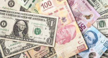 Dólar sigue bajando ante el peso; se cambia a 20.10