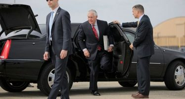 Secretarios de EU, Rex Tillerson y John Kelly, llegan esta tarde a la CDMX