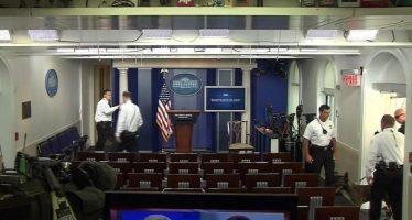 La Casa Blanca excluye a varios medios de comunicación de conferencia de prensa