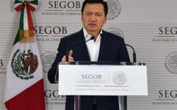 México no pedirá ayuda a EU para combatir al narcotráfico: Segob