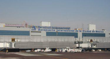 Tiroteo deja a agente herido en calles cercanas al Aeropuerto de la Ciudad de México
