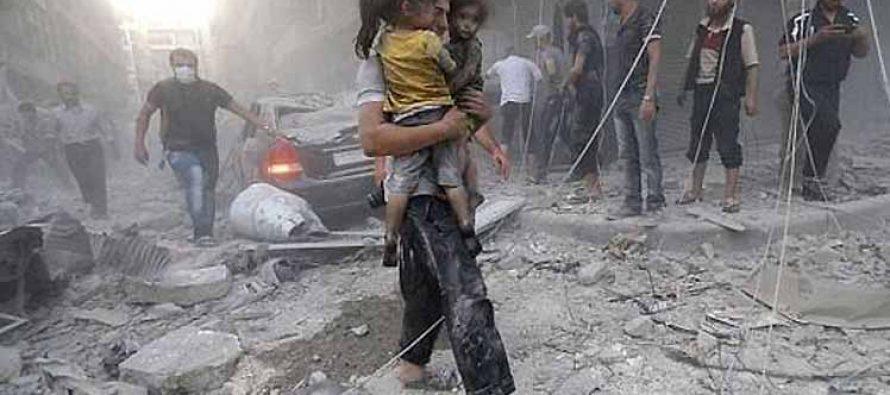Bombardeo en escuela siria de Raqqa causa 33 muertos y decenas de heridos