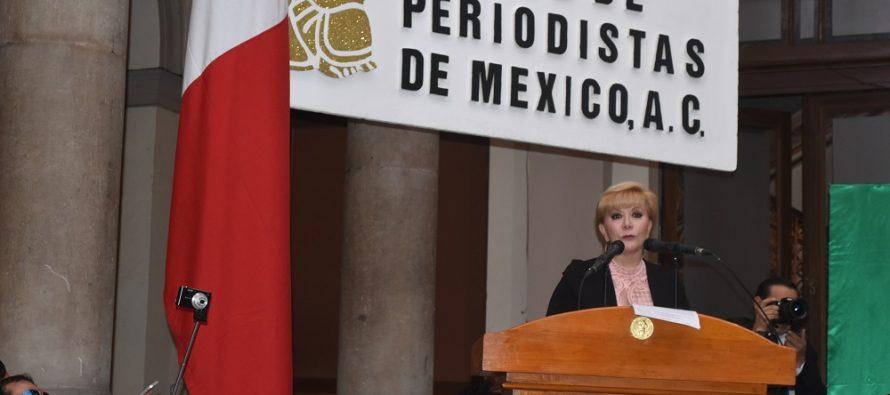 Palabras de Celeste Sáenz de Miera en el XLVI Certamen Nacional e Internacional de Periodismo