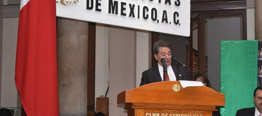 Palabras de Mario Méndez Acosta en el Certamen Nacional de Periodismo 2017