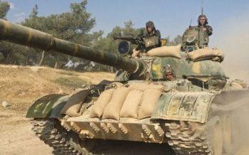 Ejército sirio destruye túnel hecho por terroristas de al-Nousra en Harasta