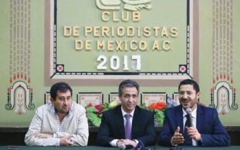 Morena presentó a José Luis Beato como enlace entre AMLO y empresarios de la CDMX