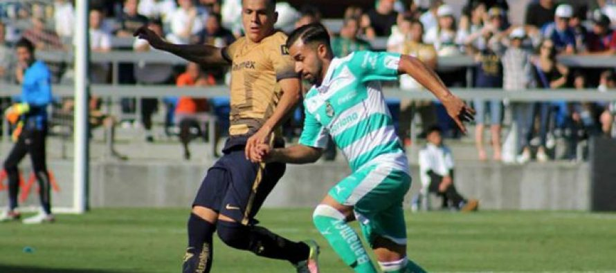 Pumas gana a Santos 2-1 y de paso le quita lo invicto; se mete a disputar la Liguilla