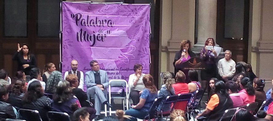La delegación Cuauhtémoc celebró el Día Internacional de la Mujer en el Club de Periodistas