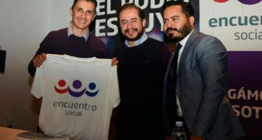 De futbolista a figura política: Adolfo Ríos, presidente estatal de Encuentro Social