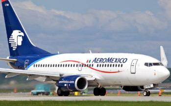 Aeroméxico sufre pérdida de 9.57 % en la Bolsa tras vender acciones a Delta