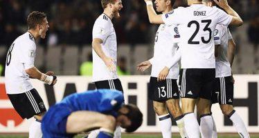 Alemania golea 4-1 a Azerbaiyán y va imparable en la Eliminatoria Mundialista