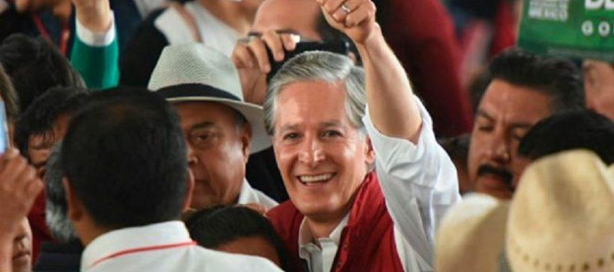 Delegados del PRI aprueban precandidatura de Del Mazo para gobernar el Edomex