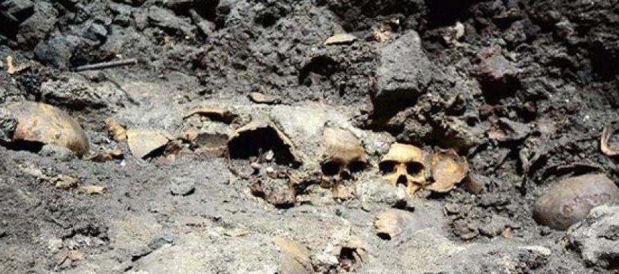 Hallan más de 250 cráneos en fosa clandestina de Veracruz