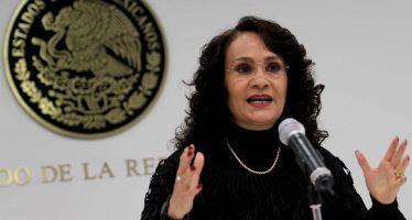 Dolores Padierna es la nueva coordinadora de senadores del PRD: Alejandra Barrales
