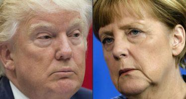 Visita de Merkel a Trump, pospuesta hasta el viernes, por posible tormenta en Washington