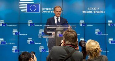 Líderes reeligen a Donald Tusk como presidente del Consejo Europeo