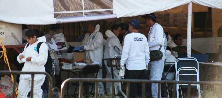 Se prolongan hasta el 3 de abril los trabajos de exhumación en Jojutla