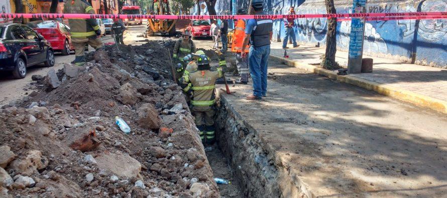 Fuga de gas en Buenavista causa desalojo de vecinos y estudiantes