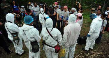 Tragedia nacional, las fosas de Veracruz
