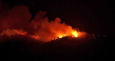 Incendio en Pico del Águila, en el Ajusco, ya fue controlado, anuncia Protección Civil de la CDMX