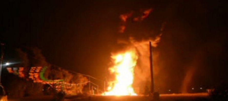 Otro incendio de ducto de Pemex en Puebla, ahora en Acatzingo
