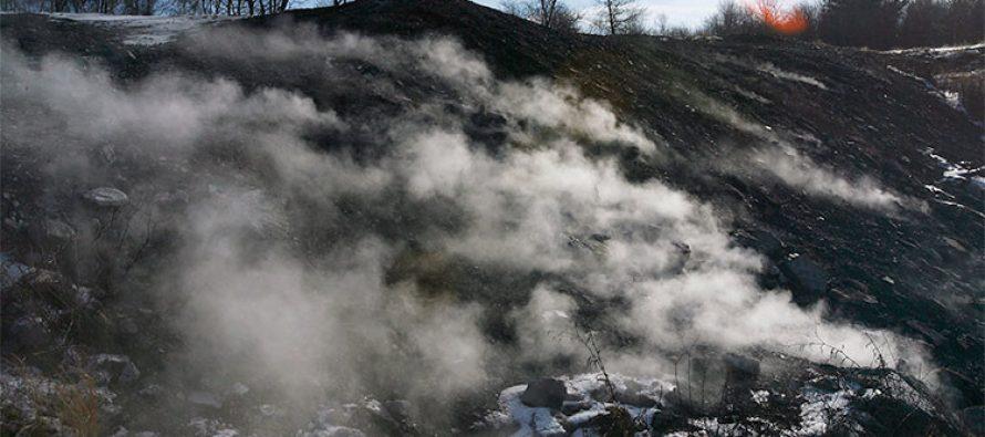 Incendios subterráneos causan pueblos fantasma y bacterias benéficas