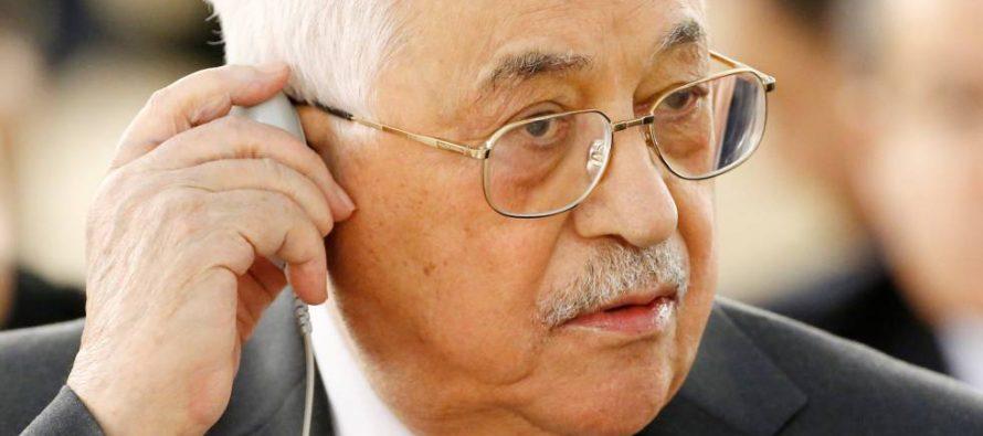 Trump invita al presidente de Palestina a visitar la Casa Blanca