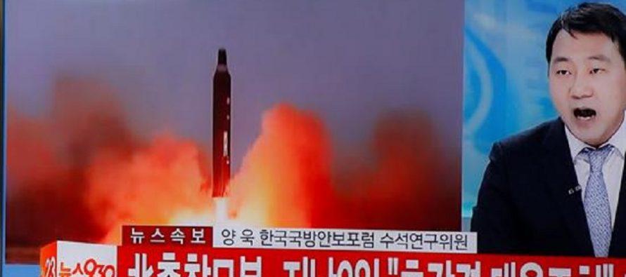 Cuatro misiles balísticos lanza Corea del Norte hacia el Mar del Japón