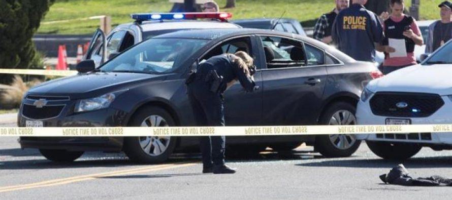 Mujer causa tiroteo cerca del Capitolio al manejar errática y casi atropellar a policías